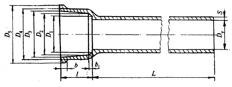 Схема труба чугунная