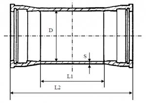 Муфта надвижная схема